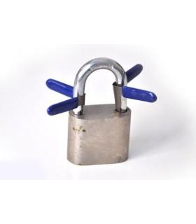 Cuñas para abrir candados sin llave