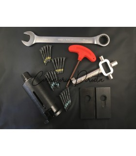 Kit extractor profesional con 20 tornillos