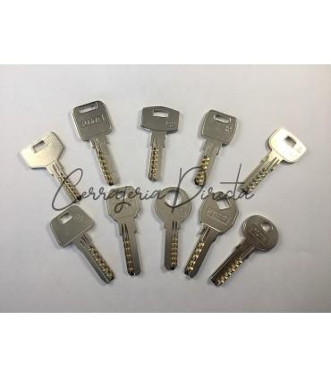 Juego de 10 llaves de seguridad