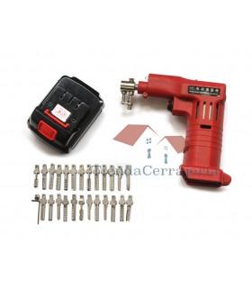Pistola eléctrica para llaves bumping