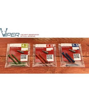 Pack 10 tornillos VIPER 4.8mm